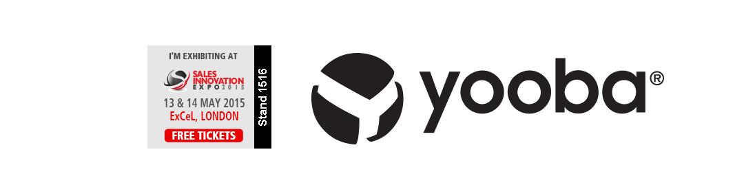 Yooba at Sales Innovation Expo 2015
