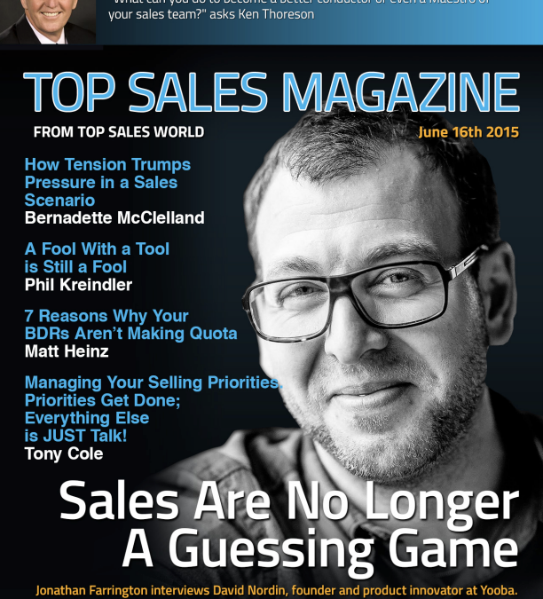 Sales Are No Longer a Guessing Game